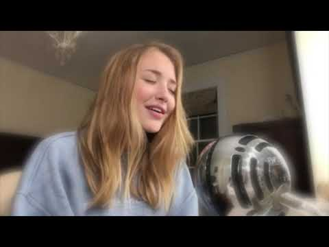 "cover of ""when the party's over"" by billie eilish  