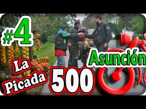Asunción, Paraguay. La Picada 500.Episodio (4/8). Turismo en moto