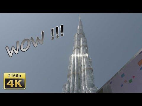 Burj Khalifa and Dubai Mall - Dubai 4K Travel Channel