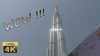 Burj Khalifa And Dubai Mall   Dubai 4k Travel Channel