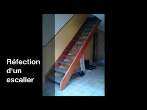 r fection d 39 un escalier youtube. Black Bedroom Furniture Sets. Home Design Ideas