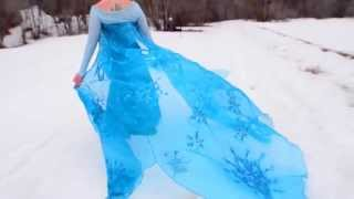 "Frozen Cosplay Music Video ""Let it Go"""