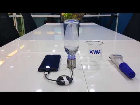 VWA H2CAP Plus - Portable Hydrogen Water Generator Demo