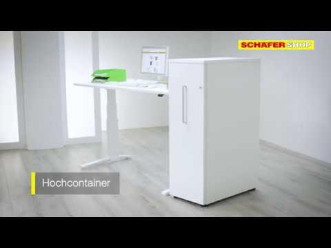 Hochcontainer: Flexibler Stauraum direkt am Arbeitsplatz   Schäfer ...