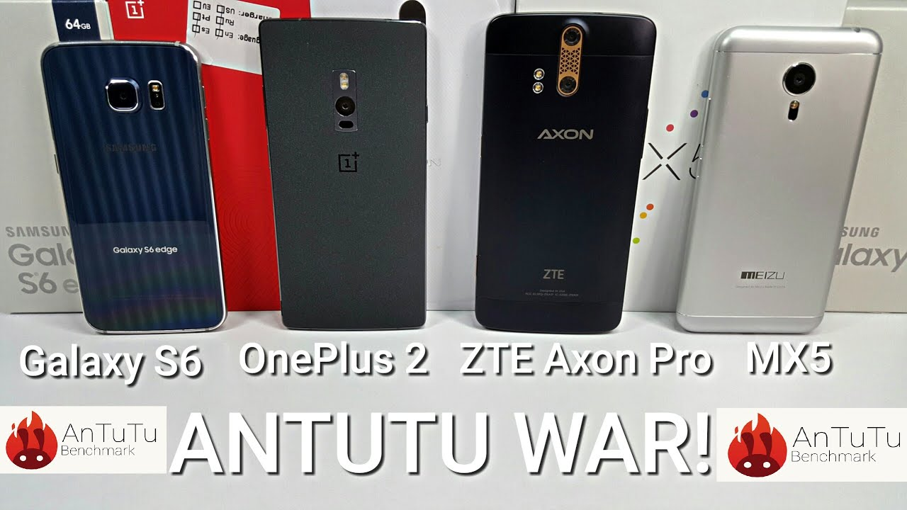 have two zte axon pro antutu you can download