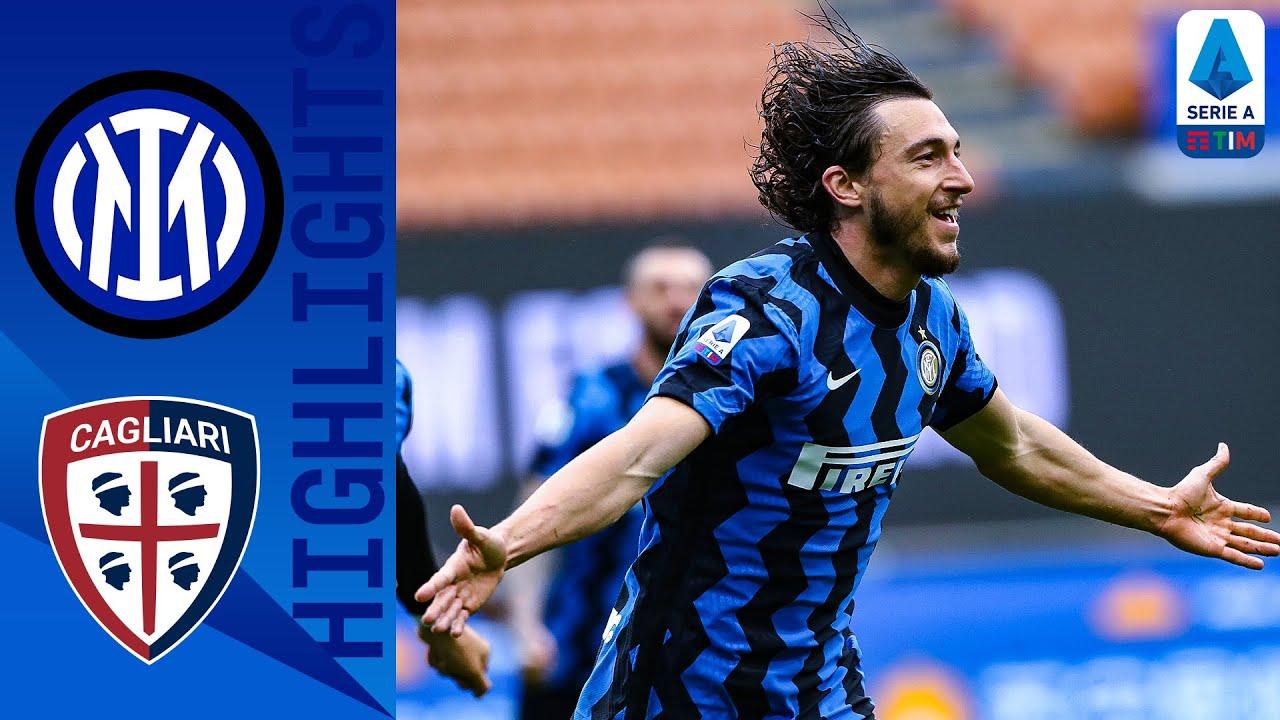 Inter 1-0 Cagliari   Darmain's Late Goal Takes Inter a Step Closer to the Title!   Serie A TIM