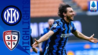 Inter 1-0 Cagliari | Darmain's Late Goal Takes Inter a Step Closer to the Title! | Serie A TIM