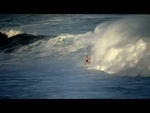 Big wave surfing Bronte Beach -  Sydney