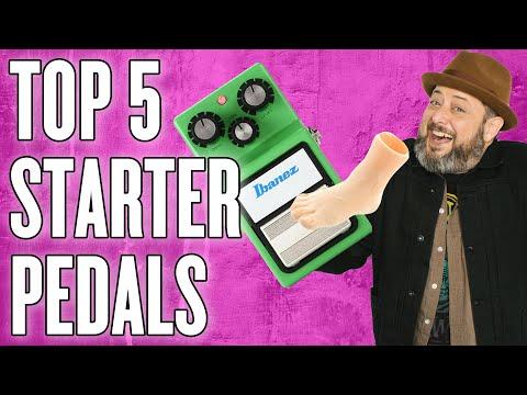 Top 5 Starter Pedals