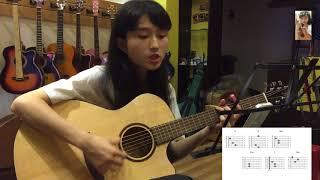 Hòn Đá Cô Đơn l Guitar đơn giản cho người mới tập l Guitar cover by Song Tử l King Guitar