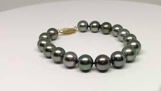 Bracelet Pi perle de tahiti vidéo