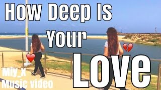How deep is your love - remix /music video/videostar/maybe feature?