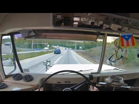 Driving a School Bus for the First Time