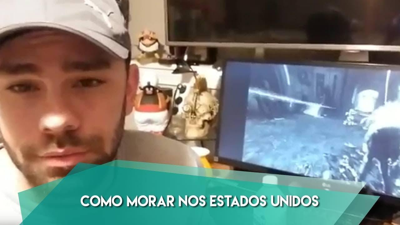 Aparador Gris Envejecido ~ COMO MORAR NOS ESTADOS UNIDOS YouTube