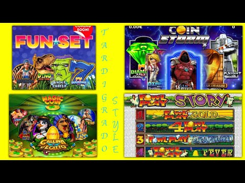 Slot da Bar Miste - Fun Set - Coin Storm - Magic Coin - Fowl Play Story