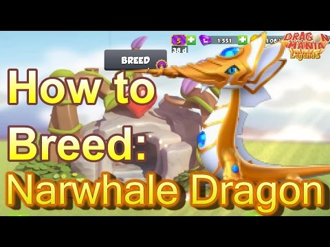 How To Breed: Legendary NARWHALE Dragon - Dragon Mania Legends