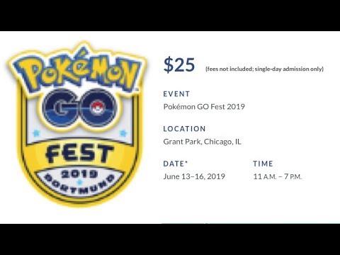 Wie kauft man ein Ticket für das Pokemon GO FEST 2019? Tutorial