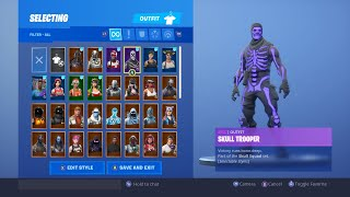 * VERKAUFT * Fortnite Trading/Selling OG Skull + Eon Skin Account! (XBOX)