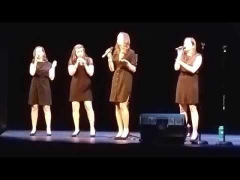 GQ (Girls Quartet) - Plain Gold Ring