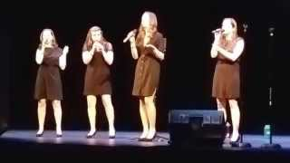 GQ (Girls Quartet) - Plain Gold Ring