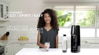 SODASTREAM Spirit Bruiswatertoestel / Appareil à eau pétillante - Productvideo Vandenborre.be