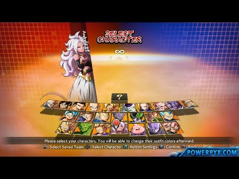 Dragon Ball FighterZ Full Roster (All Characters & Maps)