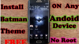 Install Batman Injustice Theme On Any Android Device For Free Without Root