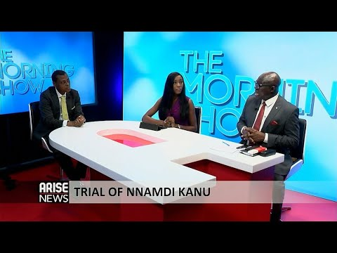 THE TRIALS OF NNAMDI KANU & SUNDAY IGBOHO + TODAY'S HEADLINES – THE MORNING SHOW