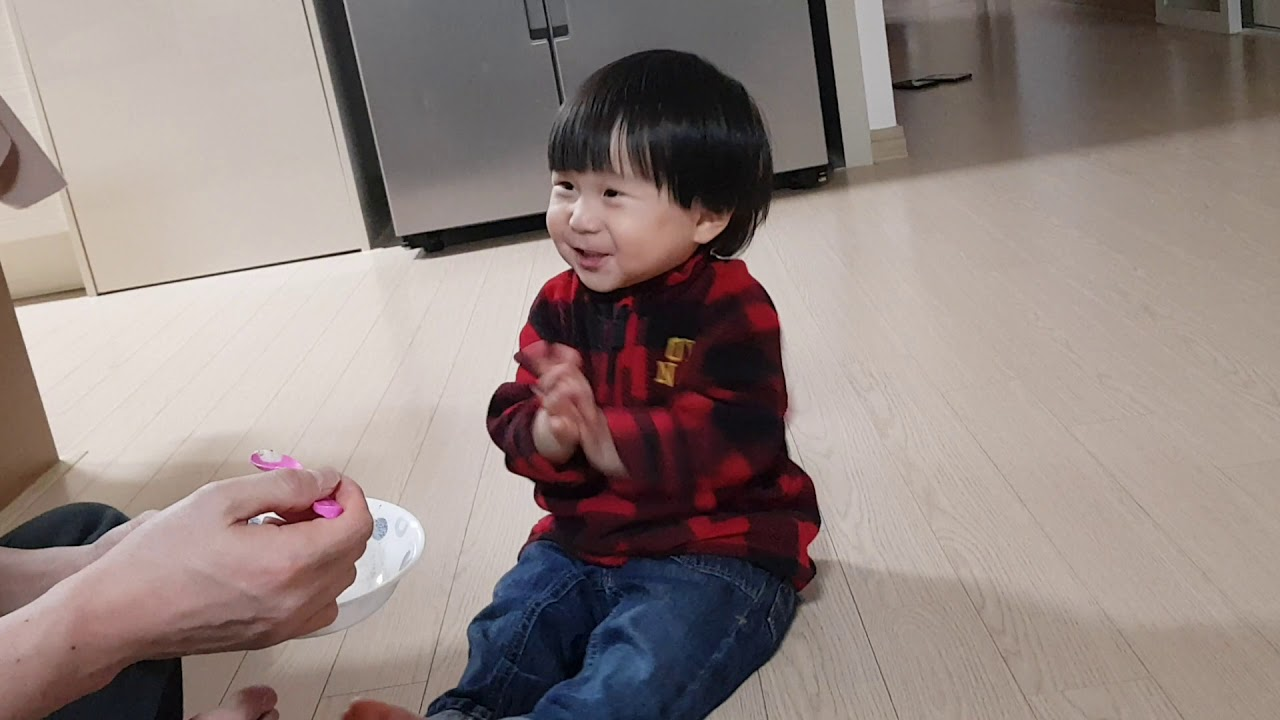아이스크림 신세계 20개월 귀요미