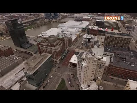 Quiet Streets As Grand Rapids Stays At Home