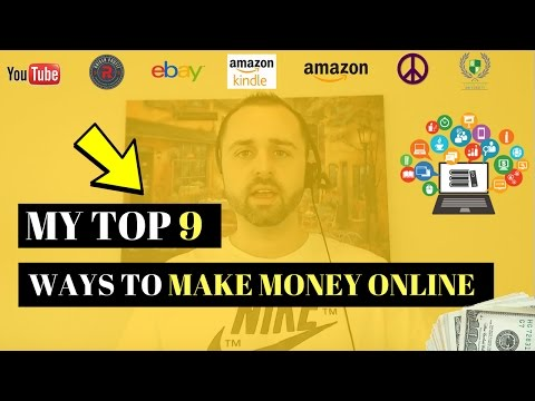 How I Make Mone Online ( Full Time)  My Top 9 Revenue Streams