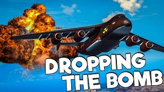Just Cause 3 Mods: Dropping the Nuke (BIGGEST EXPLOSION EVER)