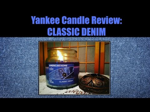 Yankee Candle Review: Classic Denim By American Home