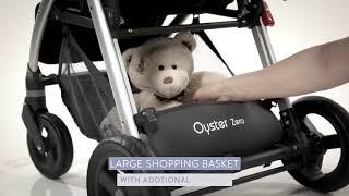 Oyster Zero - всесезонная легкая прогулочная коляска (Ойстер Зеро)