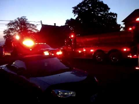 Ottoville OH traffic jam during firemans' convention June 2013