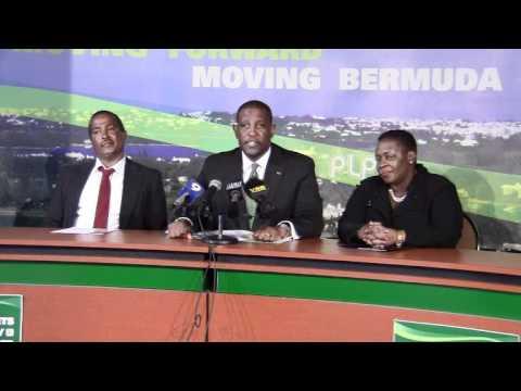 PLP Announce Candidate Marcus Jones Bermuda Apr 4 2012