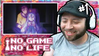 """NO GAME NO LIFE Episode 1 REACTION """"Beginner"""""""