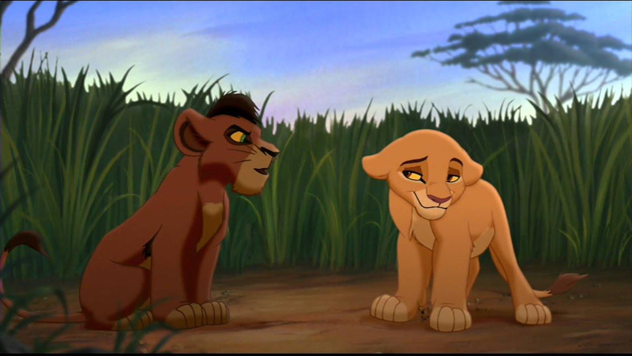 lion king 2 kiara and kovu meet again