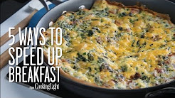 Speed Up Breakfast with These Tips   Healthy Eating   Cooking Light
