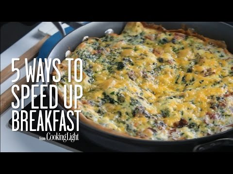 Speed Up Breakfast with These Tips | Healthy Eating | Cooking Light