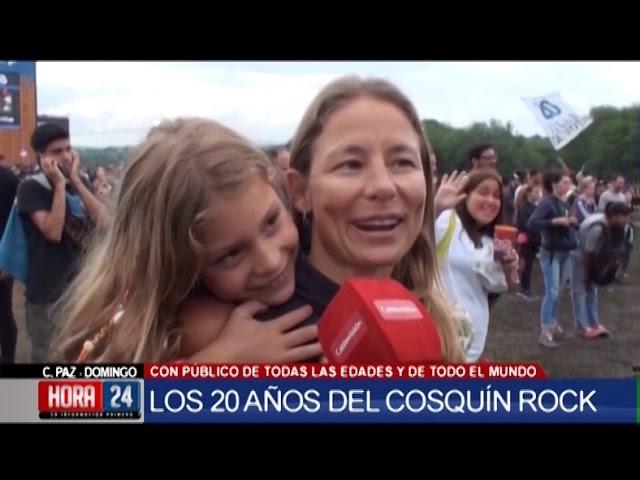 Cosquín Rock 2020 en Hora 24