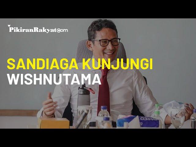 Berkunjung ke Rumah Wishnutama, Menparekraf Sandiaga Uno Bicarakan Soal Potensi