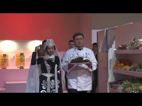 АБХАЗИЯ на кулинарном чемпионате  CHEF A LA RUSSE