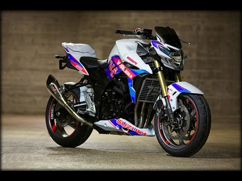 suzuki gsr 750 exhaust sound compilation youtube. Black Bedroom Furniture Sets. Home Design Ideas