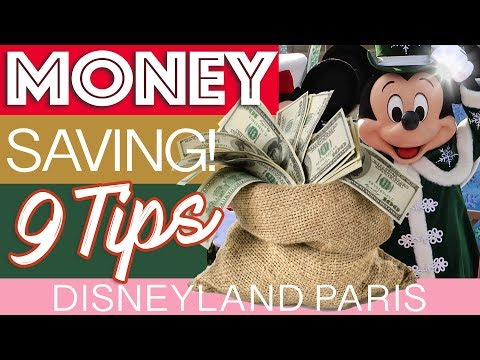 How to save money 🤑 on your CHRISTMAS Disneyland Paris HOLIDAY? We give you 9 tips to save money