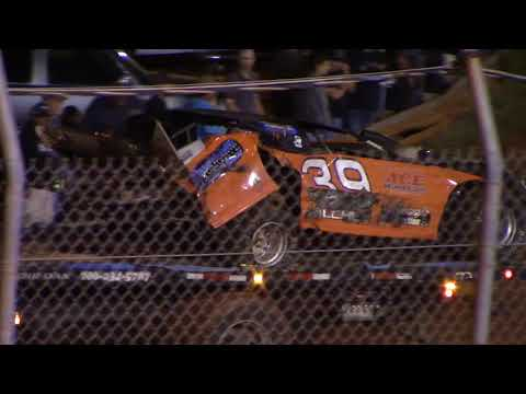 Rome Speedway Econobombers Crash 10/1/17