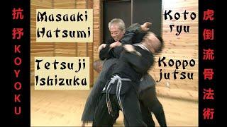虎倒流骨法術 Koto-ryu koppojutsu 抗抒 Kōyoku