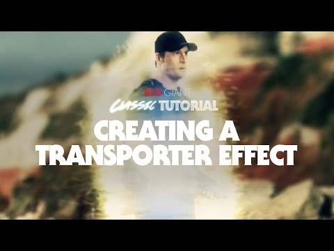 Classic Tutorial | Creating a Transporter Effect