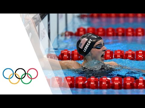 Katie Ledecky Wins Olympic Gold - Women's 800m Freestyle | London 2012 Olympic Games