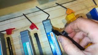 Распаковка и обзор резцов со сменными наконечниками